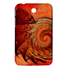 Nautilus Shell Abstract Fractal Samsung Galaxy Tab 3 (7 ) P3200 Hardshell Case  by designworld65