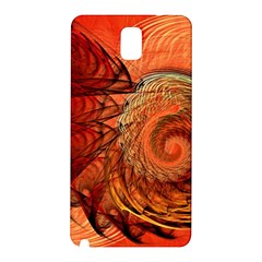 Nautilus Shell Abstract Fractal Samsung Galaxy Note 3 N9005 Hardshell Back Case by designworld65