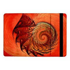 Nautilus Shell Abstract Fractal Samsung Galaxy Tab Pro 10 1  Flip Case by designworld65