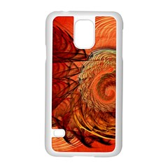 Nautilus Shell Abstract Fractal Samsung Galaxy S5 Case (white) by designworld65
