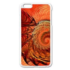 Nautilus Shell Abstract Fractal Apple Iphone 6 Plus/6s Plus Enamel White Case by designworld65