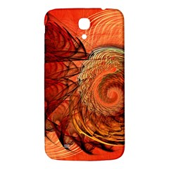 Nautilus Shell Abstract Fractal Samsung Galaxy Mega I9200 Hardshell Back Case by designworld65