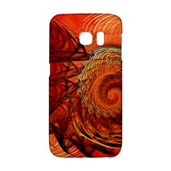 Nautilus Shell Abstract Fractal Galaxy S6 Edge by designworld65
