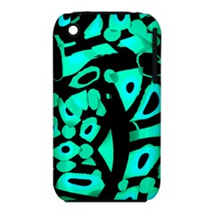 Cyan Design Apple Iphone 3g/3gs Hardshell Case (pc+silicone) by Valentinaart