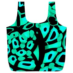 Cyan Design Full Print Recycle Bags (l)