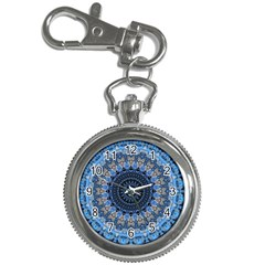 Feel Blue Mandala Key Chain Watches by designworld65