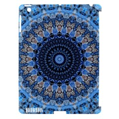 Feel Blue Mandala Apple Ipad 3/4 Hardshell Case (compatible With Smart Cover) by designworld65