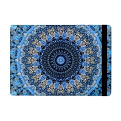 Feel Blue Mandala Apple Ipad Mini Flip Case by designworld65