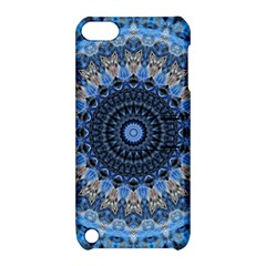 Feel Blue Mandala Apple Ipod Touch 5 Hardshell Case With Stand by designworld65