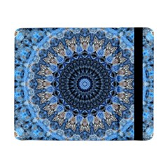 Feel Blue Mandala Samsung Galaxy Tab Pro 8 4  Flip Case by designworld65