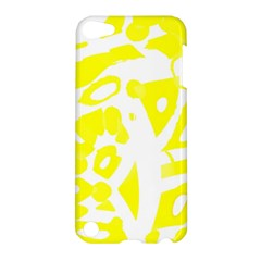 Yellow Sunny Design Apple Ipod Touch 5 Hardshell Case by Valentinaart
