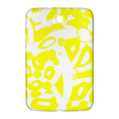 Yellow Sunny Design Samsung Galaxy Note 8 0 N5100 Hardshell Case  by Valentinaart