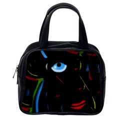 Black Magic Woman Classic Handbags (one Side) by Valentinaart