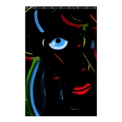 Black Magic Woman Shower Curtain 48  X 72  (small)  by Valentinaart