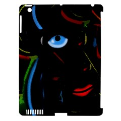 Black Magic Woman Apple Ipad 3/4 Hardshell Case (compatible With Smart Cover) by Valentinaart