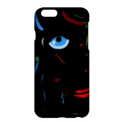 Black Magic Woman Apple Iphone 6 Plus/6s Plus Hardshell Case by Valentinaart