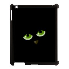 Halloween   Back Cat Apple Ipad 3/4 Case (black) by Valentinaart