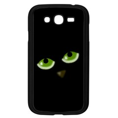 Halloween   Back Cat Samsung Galaxy Grand Duos I9082 Case (black) by Valentinaart