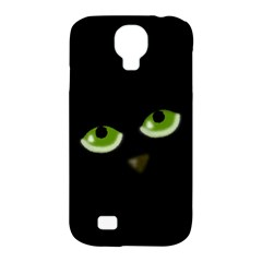 Halloween   Back Cat Samsung Galaxy S4 Classic Hardshell Case (pc+silicone) by Valentinaart