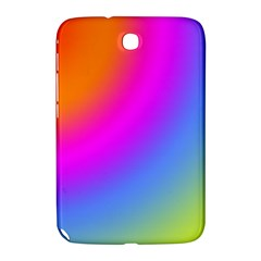 Radial Gradients Red Orange Pink Blue Green Samsung Galaxy Note 8 0 N5100 Hardshell Case  by EDDArt