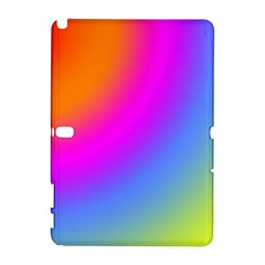 Radial Gradients Red Orange Pink Blue Green Samsung Galaxy Note 10 1 (p600) Hardshell Case by EDDArt