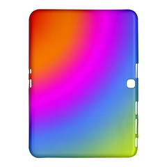 Radial Gradients Red Orange Pink Blue Green Samsung Galaxy Tab 4 (10 1 ) Hardshell Case  by EDDArt