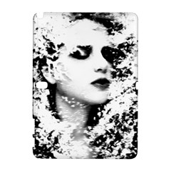 Romantic Dreaming Girl Grunge Black White Samsung Galaxy Note 10 1 (p600) Hardshell Case by EDDArt