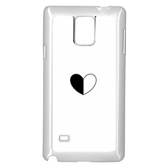 Yinyangheart Samsung Galaxy Note 4 Case (white)