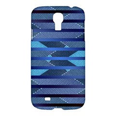 Abric Texture Alternate Direction Samsung Galaxy S4 I9500/i9505 Hardshell Case