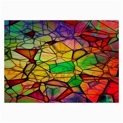 Abstract Squares Triangle Polygon Collage Prints by AnjaniArt