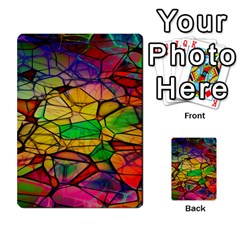 Abstract Squares Triangle Polygon Multi Purpose Cards (rectangle)  by AnjaniArt
