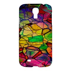Abstract Squares Triangle Polygon Samsung Galaxy S4 I9500/i9505 Hardshell Case