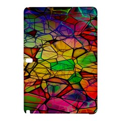 Abstract Squares Triangle Polygon Samsung Galaxy Tab Pro 10 1 Hardshell Case by AnjaniArt