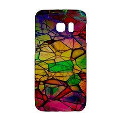 Abstract Squares Triangle Polygon Galaxy S6 Edge by AnjaniArt
