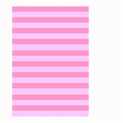Fabric Baby Pink Shades Pale Small Garden Flag (two Sides)