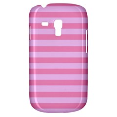 Fabric Baby Pink Shades Pale Samsung Galaxy S3 Mini I8190 Hardshell Case