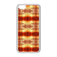 Fabric Design Pattern Color Apple Iphone 5c Seamless Case (white)