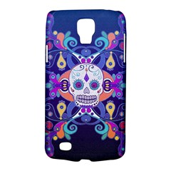 Día De Los Muertos Skull Ornaments Multicolored Galaxy S4 Active by EDDArt