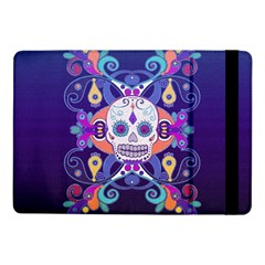 Día De Los Muertos Skull Ornaments Multicolored Samsung Galaxy Tab Pro 10 1  Flip Case by EDDArt