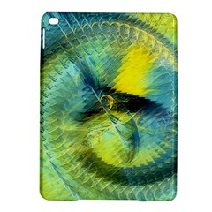 Light Blue Yellow Abstract Fractal Ipad Air 2 Hardshell Cases by designworld65