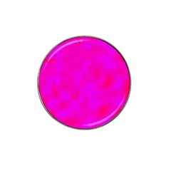 Simple Pink Hat Clip Ball Marker by Valentinaart