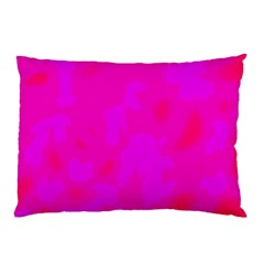 Simple Pink Pillow Case by Valentinaart