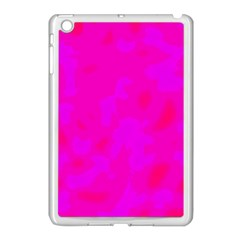 Simple Pink Apple Ipad Mini Case (white) by Valentinaart