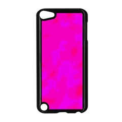 Simple Pink Apple Ipod Touch 5 Case (black) by Valentinaart