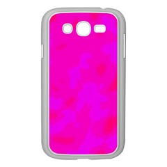 Simple Pink Samsung Galaxy Grand Duos I9082 Case (white) by Valentinaart