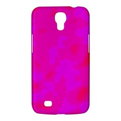 Simple Pink Samsung Galaxy Mega 6 3  I9200 Hardshell Case by Valentinaart