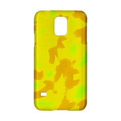 Simple Yellow Samsung Galaxy S5 Hardshell Case  by Valentinaart