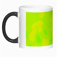 Simple Yellow And Green Morph Mugs by Valentinaart