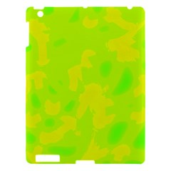 Simple Yellow And Green Apple Ipad 3/4 Hardshell Case
