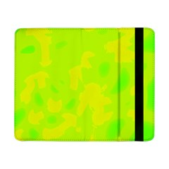 Simple Yellow And Green Samsung Galaxy Tab Pro 8 4  Flip Case by Valentinaart